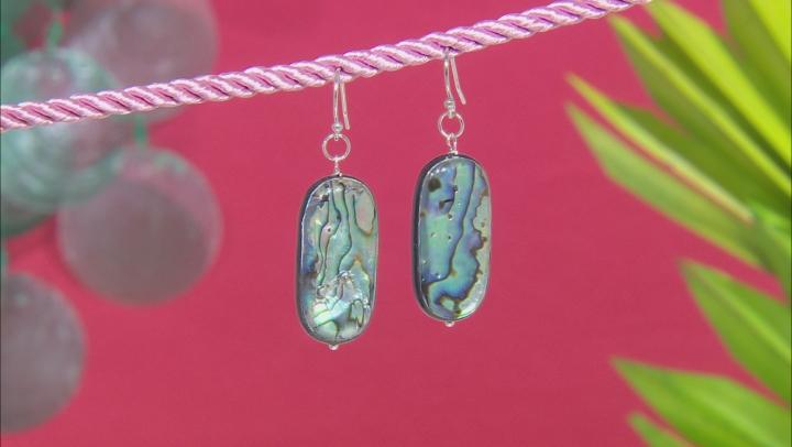 Abalone Shell Sterling Silver Earring