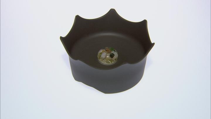 VitaJuwel (R) CrownJuwel Pet Dish in Slate Gray