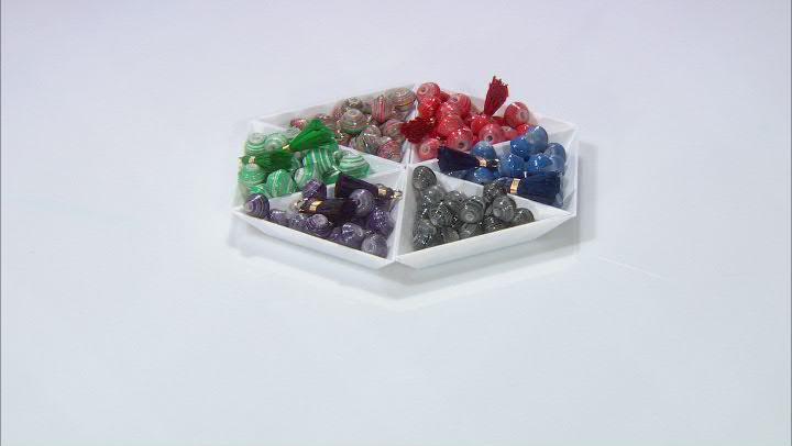 Akola Beading Kit in Jewel Tone Karatasi Beads