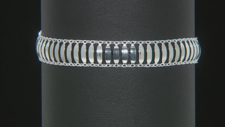 Sterling Silver Flat Cleopatra Bracelet