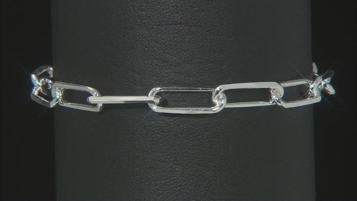 Sterling Silver 6.04MM Open Link 7.5 Inch Bracelet