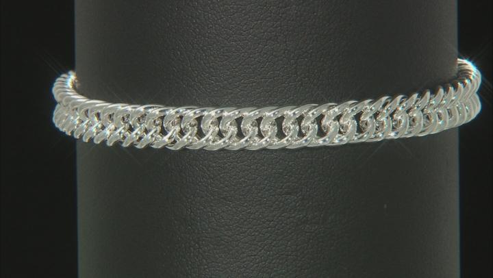 Sterling Silver 5.85MM Curb Bracelet
