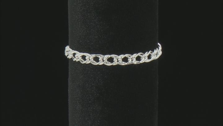Sterling Silver 6.50MM Double Grumette Link Bracelet