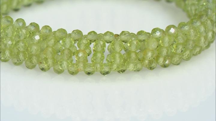 Manchurian Peridot Stretch Bracelet 3mm