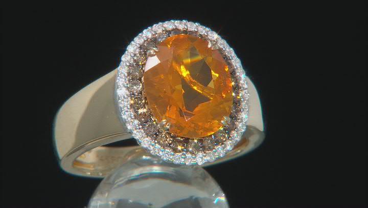 Yellow Fire Opal 14K Yellow Gold Ring 0.45ctw