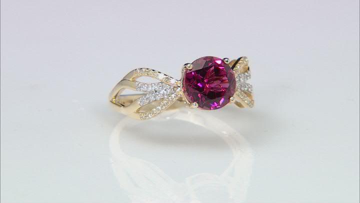 Pink Tourmaline 14K Yellow Gold Ring 1.94ctw