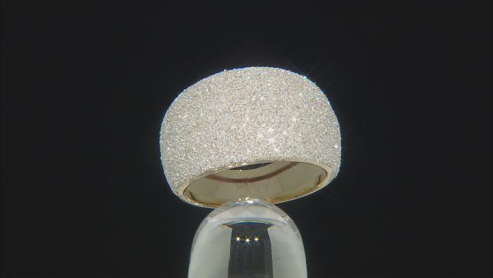 10K Yellow Gold Brilliamo™ 13.8MM Dome Ring