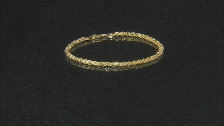10K YELLOW GOLD PHOENIX FANCY DESIGNER BRACELET