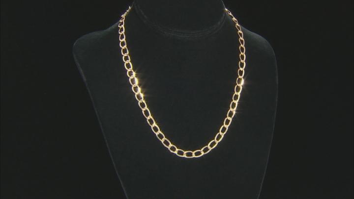 "10KT Yellow Gold Golden Breeze Necklace 18"""