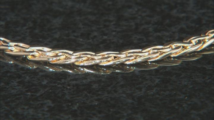 10K Yellow Gold Polished Woven Bracelet