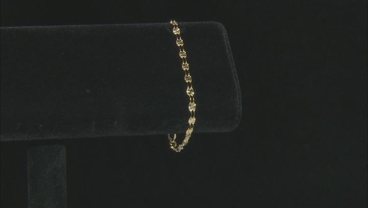 10k Yellow Gold 2-Strand Bracelet