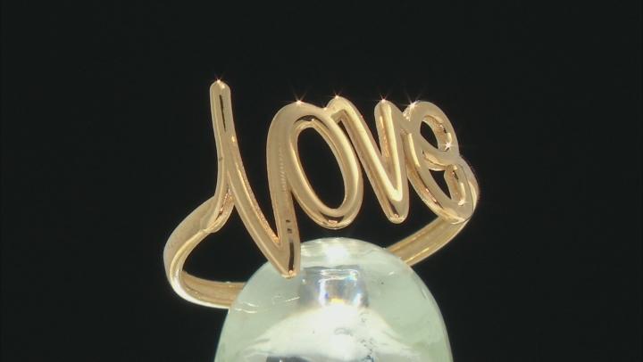 10k Yellow Gold Love Ring