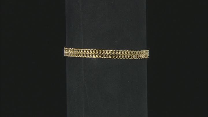 10K Yellow Gold 5.70MM Infinity Link Bracelet