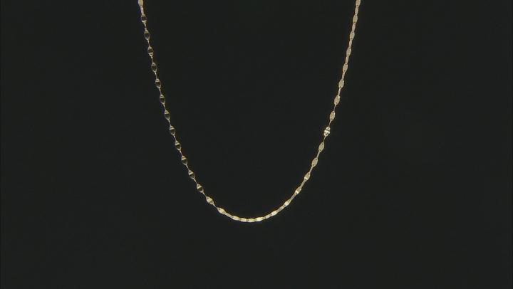 10K Yellow Gold 2.05MM 18