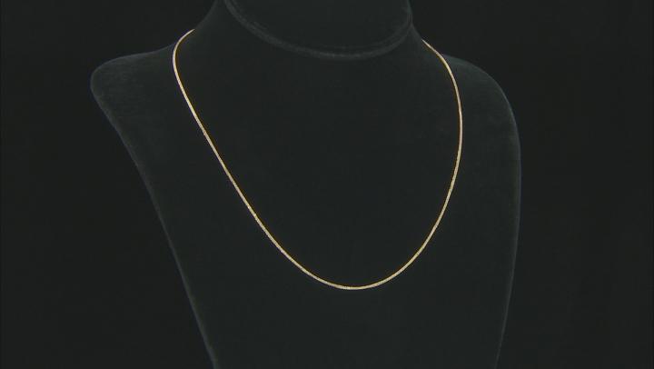 10K Yellow Gold 0.77MM Diamond Cut 18