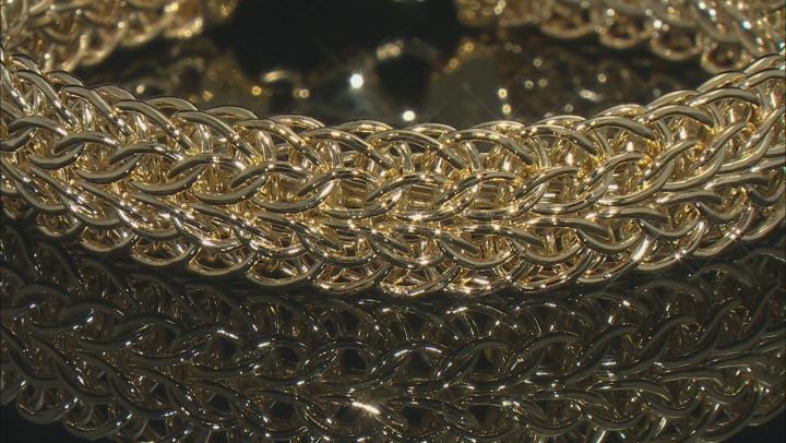 14K Yellow Gold Polished 12.3MM Sedusa Bracelet