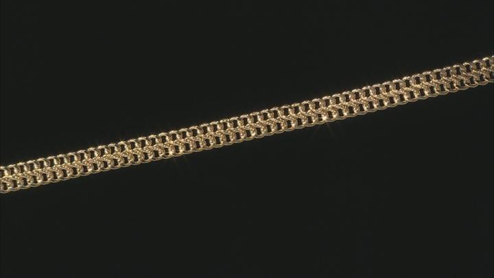 10K Yellow Gold 7.5MM Infinity Link Bracelet