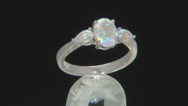 Mercury Mist® Topaz Rhodium Over 10k White Gold Ring 1.82ctw