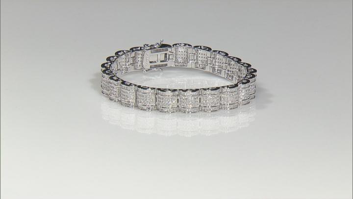 Cubic Zirconia Silver Bracelet 5.64ctw