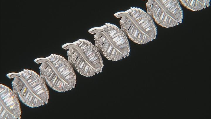 Cubic Zirconia Rhodium Over Sterling Silver Bracelet 19.00ctw