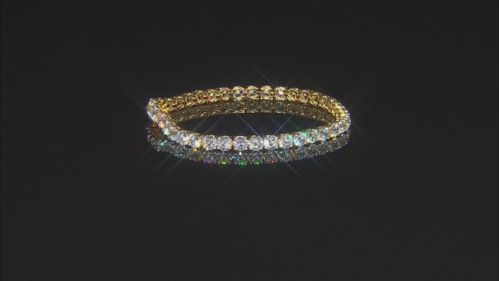 Bella Luce 25.92ctw Created Cz 18kt Gold Over .925 Sterling Silver Bracelet