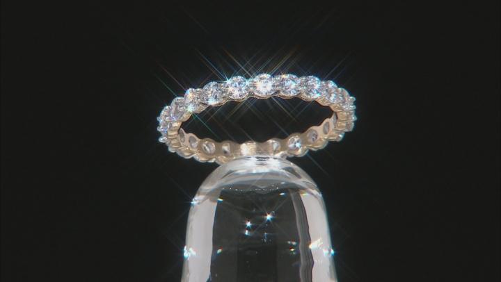 White Cubic Zirconia 10k Yellow Gold Ring 2.31ctw