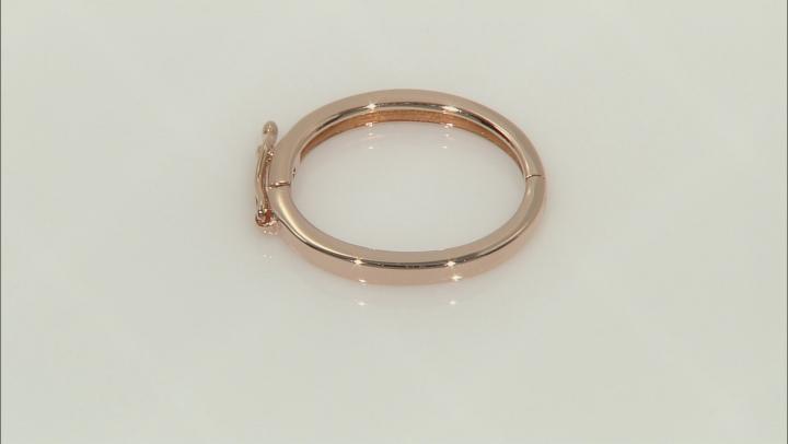 Necklace Shortener Adjuster 24x19mm 18k Rose Gold Over Silver