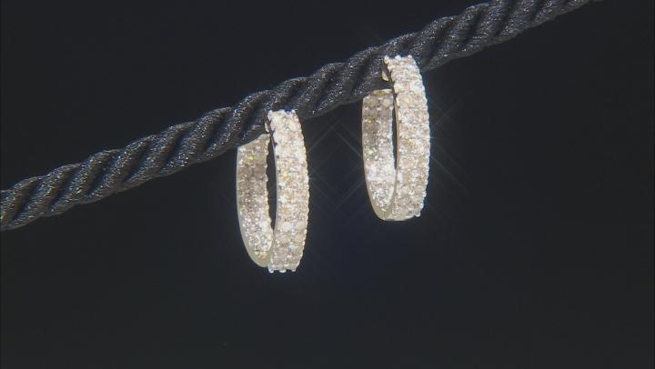 Diamond 10k Yellow Gold Earrings 1.90ctw