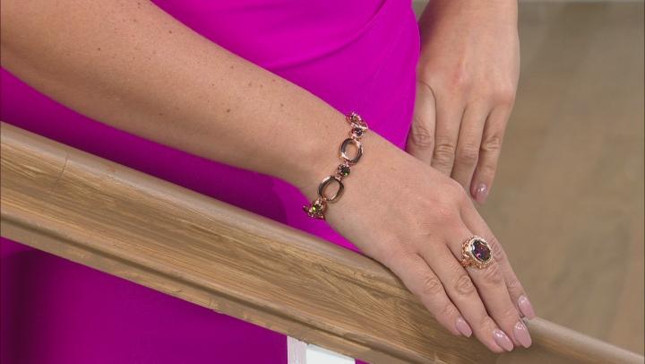 Sweet Tart™ Quartz Copper Bracelet 3.40ctw