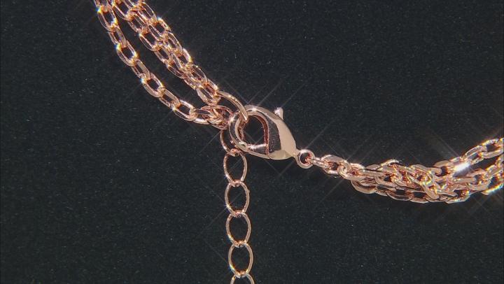 Sweet Tart™ Quartz Copper Triple Chain Enhancer 4.90ct