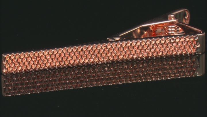 Textured Copper Tie Clip