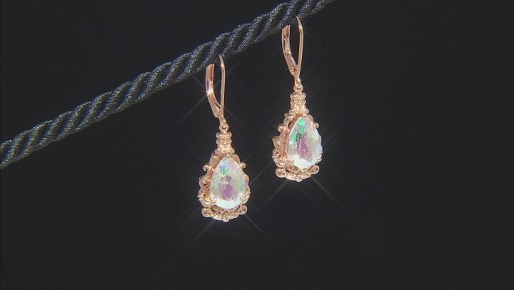 Zero Jupiter™ Quartz Copper Earrings 4.52ct