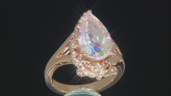 Zero Jupiter™ Quartz Copper Ring 3.91ct