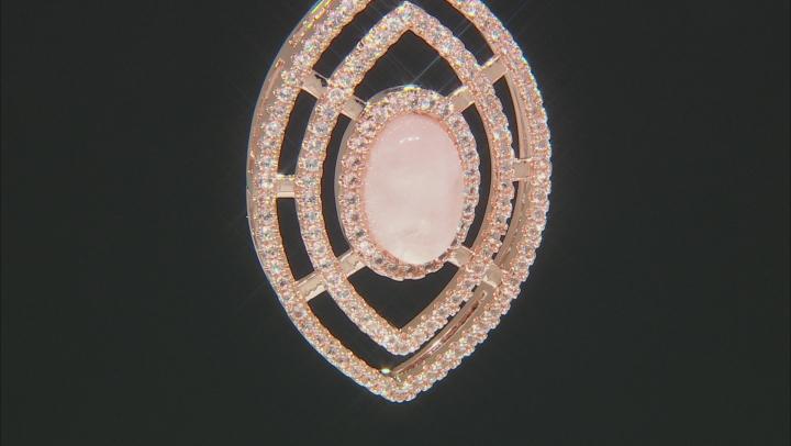 Rose Quartz Copper Enhancer 1.21ctw