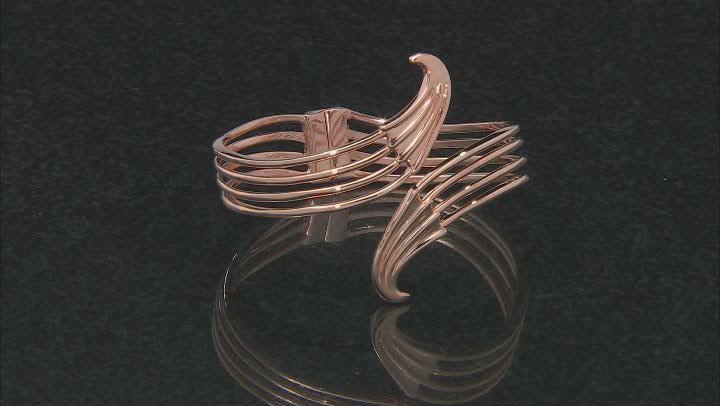 Copper Hinged Cuff Bracelet