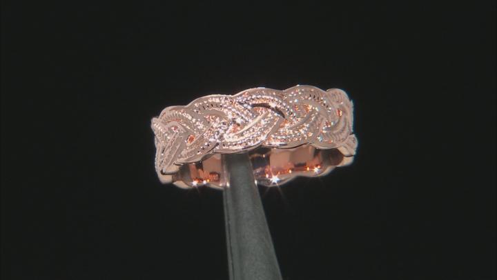 Copper Braid Band Ring
