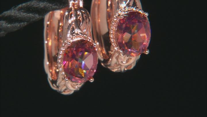 Whatiwant™ Mystic Quartz® Copper Earrings 3.06ctw