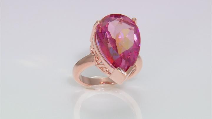 Whatiwant™ Mystic Quartz® Silver Ring 8.50ctw