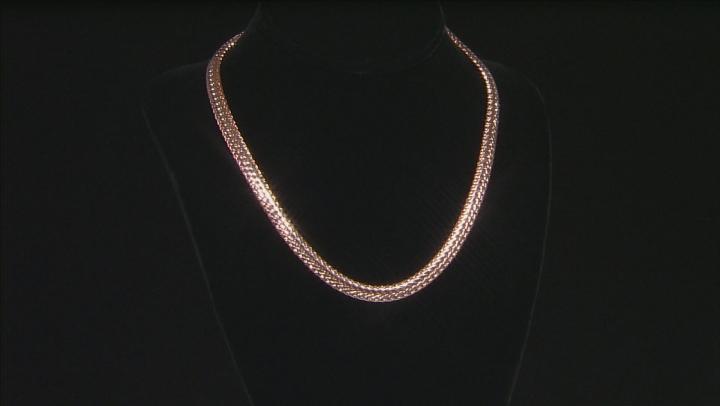 Copper Flat Chain