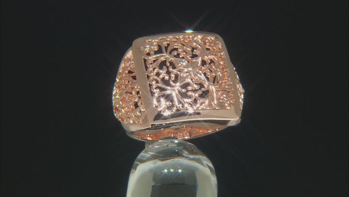 Filigree Copper Ring