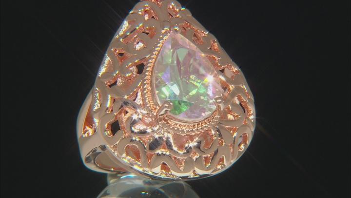 Zero Jupiter™ Quartz Copper Solitaire Ring 3.06ct