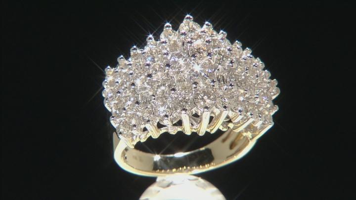 Diamond 10k Yellow Gold Ring 3.00ctw