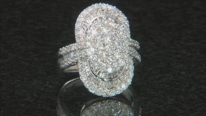 Diamond 14k White Gold Ring 2.45ctw
