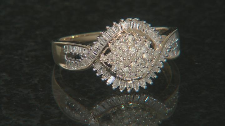 Diamond 10k Yellow Gold Ring .50ctw