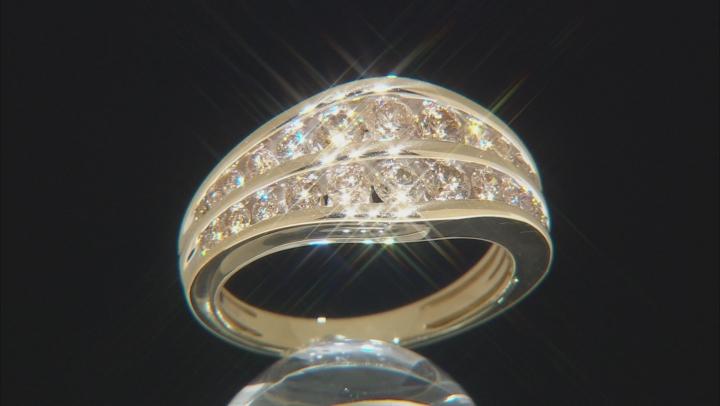 Candlelight Diamond 14k Yellow Gold Ring 1.00ctw