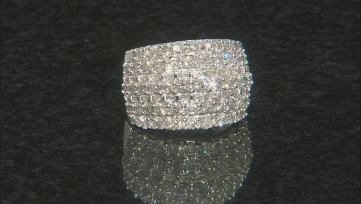 White Diamond 10k White Gold Ring 2.25ctw