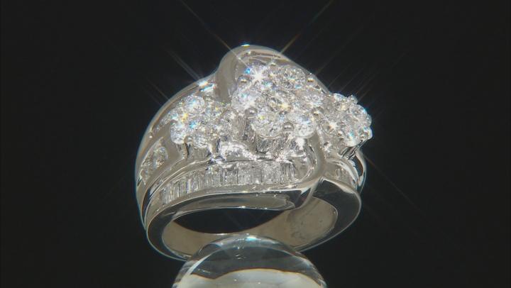 White Diamond 14k White Gold Ring 3.00ctw