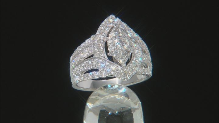 White Diamond 14K White Gold Ring 2.00ctw