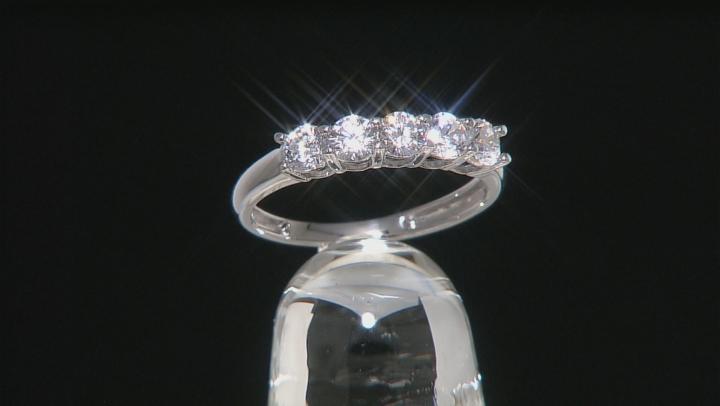 White Cubic Zirconia 14k White Gold Ring 1.75ctw