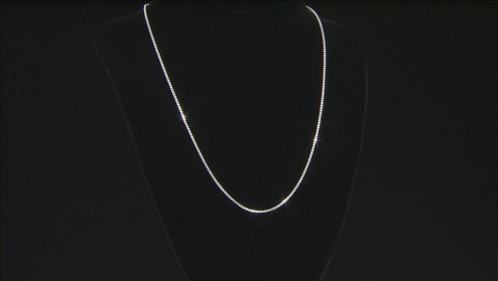 Sterling Silver Diamond Cut Popcorn And Criss Cross Chain Set 60 inch